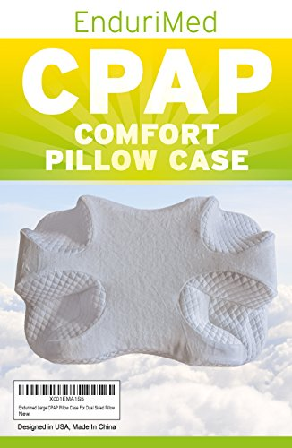 Pillow Case for Use with Endurimed CPAP Comfort Pillow - Standard White
