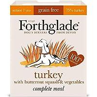 [Forthglade] バタースカッシュ&野菜穀物無料の395グラムとの完全なシニア七面鳥をForthglade - Forthglade Complete Senior Turkey with Butternut Squash & Veg Grain Free 395g [並行輸入品]