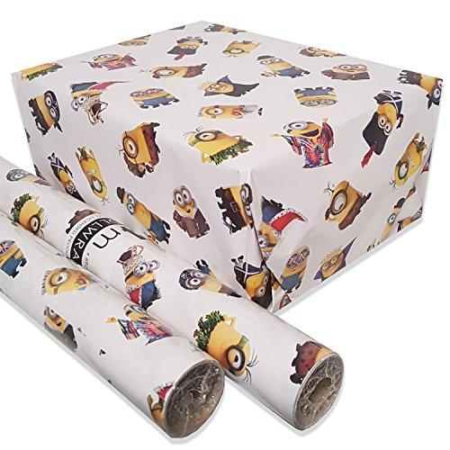 Minions - Geschenkpapier-Rolle (e4x0,69m) zum Film