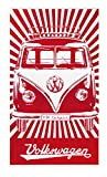 BRISA VW Collection - Volkswagen Furgoneta Hippie Bus T1 Van Gran Toalla de...