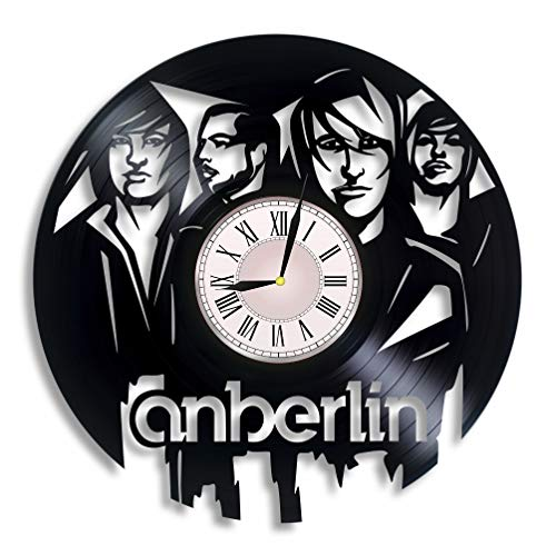 Luchko Decor Complicatible with Anberlin Music Vinyl Wall Clock, Anberlin Art, Anberlin Gift for Any Occasion