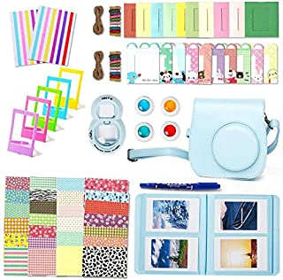 10 in 1 Bundles Fujifilm Instax Mini 8 / Mini 9 / Mini 8+ Camera Accessories Fujifilm Set - Blue