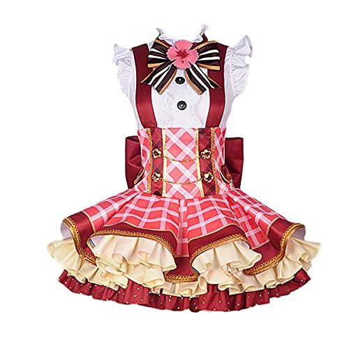 Oppinty Love Live Anime Bouquet Awakening Yazawa Nico disfraces de cosplay vestido de uniforme de mujer