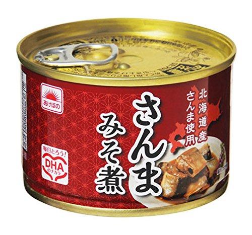 あけぼの さんまみそ煮 150g 6缶