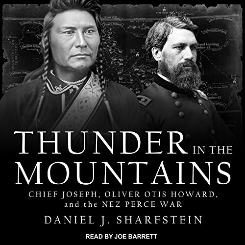 Thunder in the Mountains audiobook cover art