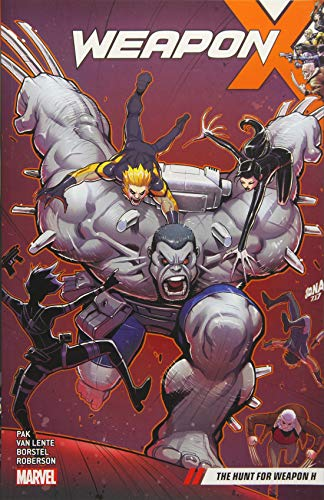 WEAPON X 02 HUNT FOR WEAPON H: The Search for Weapon H