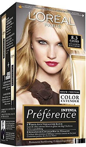 Loreal Preference 8.3 Cannes Licht Goudblond