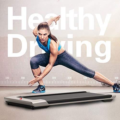 KWY Elektrisches Desktop-Laufband - mit kabelloser Fernbedienung, Stoßdämpfung/extrem leiser Stoßdämpfungstechnologie, geeignet für Fitnessgeräte für Faltbare Mini-Laufgeräte zu Hause/im Büro