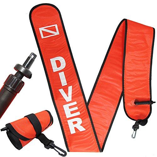 Scuba Choice Scuba Diving 6' Surface Marker Signal...