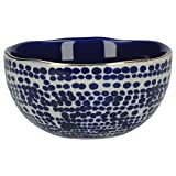 Mikasa Azores Stoneware Snack Bowl with Decorative Speckle Pattern, 10 x 5.5 cm (4' x 2')