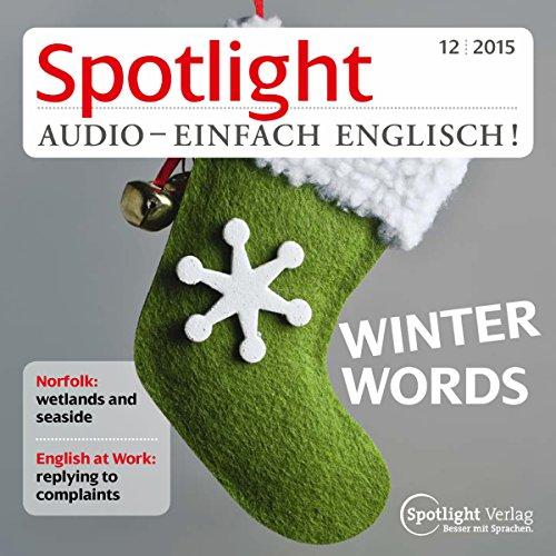 Spotlight Audio - Winter words. 12/2015 Titelbild