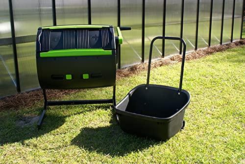 Riverstone Industries Dual Chamber Compost Tumbler Assortment, Black (ARSI-MCT-MC)