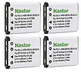 Kastar Battery (4-Pack) for Fujifilm NP-45...