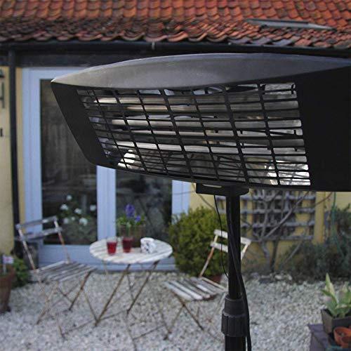SEALEY Infrarot-Quarz-Terrassenstrahler 2000W/230V Mit Teleskop-Bodenständer - 3