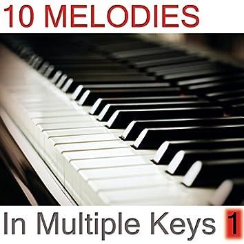 10 Melodies in Multiple Keys Volume 1