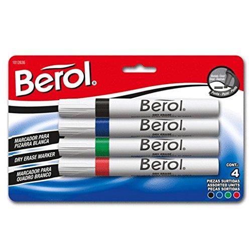 Marcadores Pizarron Blanco marca Berol
