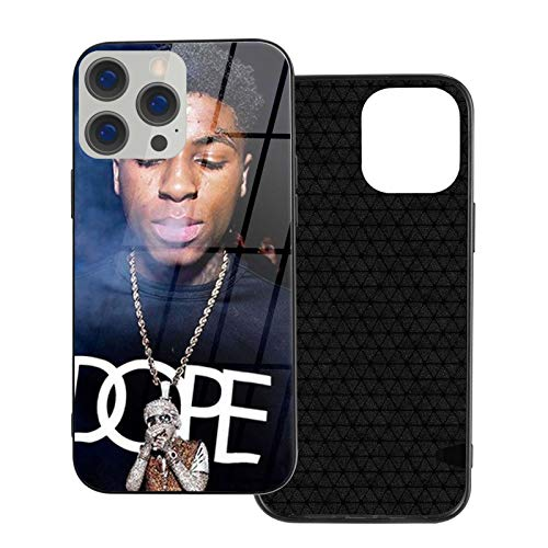 NBA Youngboy Glass Phone Case Cover for iPhone 12 Pro MAX 12 Mini 11 Pro MAX XR X/XS SE 2020/7/8 6/6s Plus Samsung Series