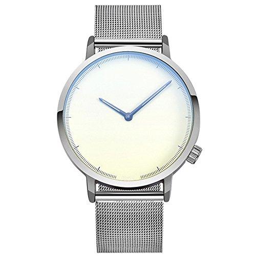 Bokeley Big Watches! Womens Watch, Fashion Classic Gold Geneva Quartz Stainless Steel Wrist Watch (B)