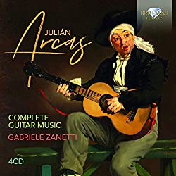 Anzeige Amazon: Julian Arcas - Complete Guitar Music - Gabriele Zanetti (Musik-CD)