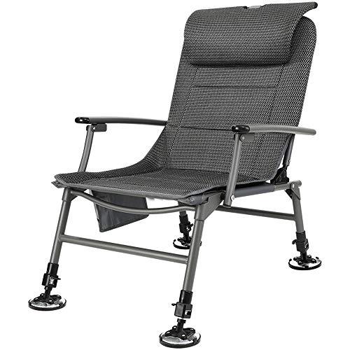 TXOZ Playa Sillas de ruedas, Bancos portátiles, sillas de sol, sillas de ocio al aire libre de picnic plegable que acampa, Jardín Mar Patio Sillas de cubierta del asiento del resto del recorrido al ai