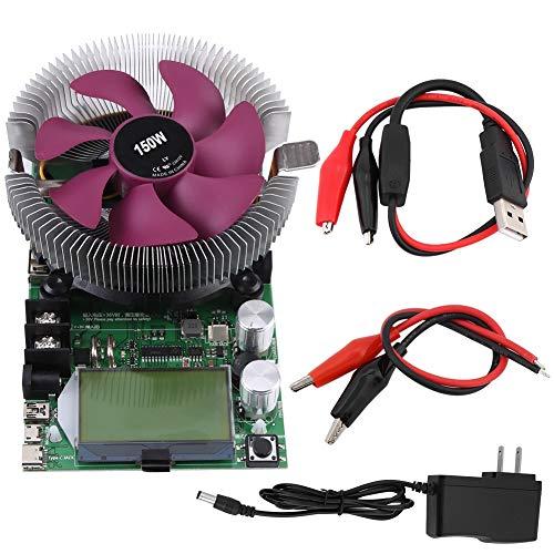 Módulo electrónico de prueba de capacidad de batería de carga electrónica de corriente constante ajustable USB-carga 150W 200V 20A