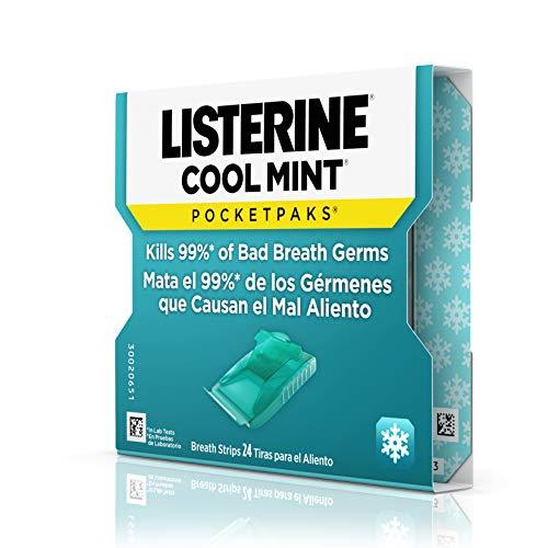 Listerine Pocketpaks Atem Strips Cool Mint 24 Stück (12er-Pack) - 6
