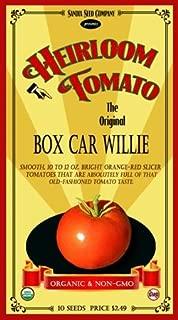 Sandia Seed Co. Box Car Willie Heirloom Tomato - 10 Seeds - Organic and Non-GMO