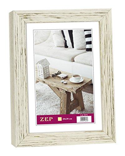 ZEP M272 Collection Basic fotolijst, hout, wit, 13 x 18 cm