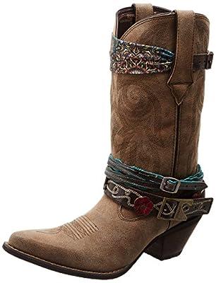"""Durango Womens Crush By Durango 12"""" Accessory Western Boot, 8 M US"""