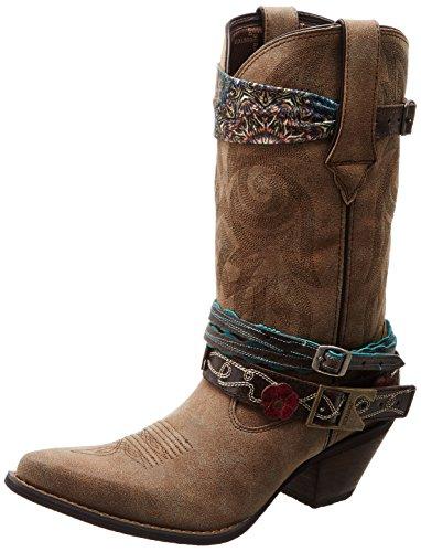 Durango Womens Crush By Durango 12' Accessory Western Boot, 9 M US