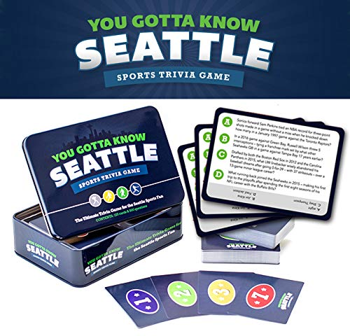 You Gotta Know Seattle Sports Trivia Game