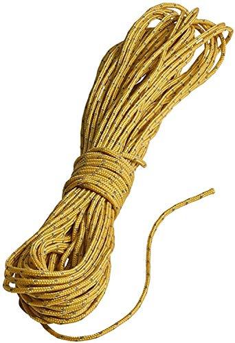 NORDISK(ノルディスク) アウトドア キャンプ ガイロープ ダイニーマ製(Guy-rope Dyneema) 1.2mm×10m 【日本正規品】 119070 マスタードイエロー