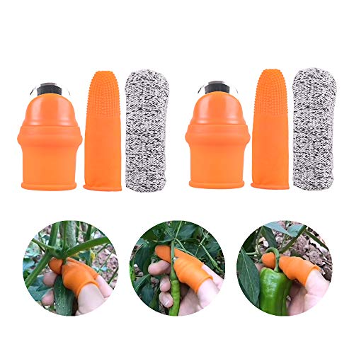 Garden Silicone Thumb Knife, Harves…