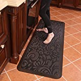 Butterfly Long Kitchen Anti Fatigue Mat Comfort Floor Mats - Perfect For kitchen, Non-Toxic, Highest...
