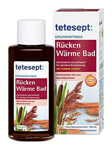 Tetesept -   Rücken Wärme Bad,