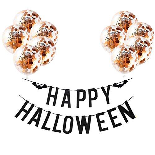 Gelukkig Halloween Ballonnen Halloween Decoratie voor Thuis Pompoen Ghost Snoep Doos Spookhuis decor Hanging Banner Hallowmas