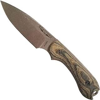 Bradford Knives Guardian 3 w/False Edge & Leather Sheath