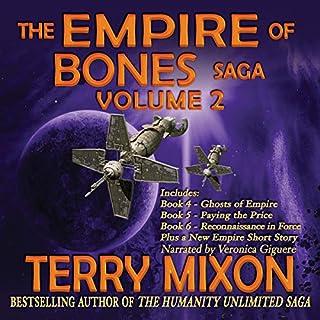 The Empire of Bones Saga, Volume 2 audiobook cover art