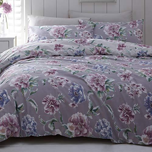 Harwood Textiles Yorkshire Linen Giselle - Juego de funda de edredón para cama king