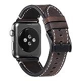 Yierya Pelle Cinturino/Cinturini/Braccialetto/Band/Strap di Ricambio/Sostituzione per Apple Watch,Orologio Cinturino per iWatch Series 5,4,3,2,1