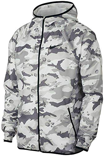 Nike Dri-FIT Woven Camo Men's Training Jacket (XXL)