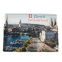 冷蔵庫マグネットスイス3D樹脂手作り工芸旅行者旅行都市土産コレクションレター冷蔵庫ステッカー