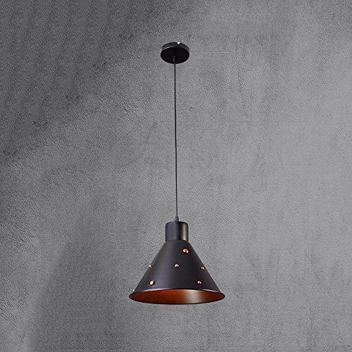 Salon Lustres, Postmodern LED Seule Tête de Fer Lampe de Plafond Nordic Restaurant Café Bar Lustre Personnalité Chambre Étude Petite Pendentif Lumière (Design : C)