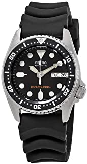 Seiko Black Automatic Dive Watch SKX013K1