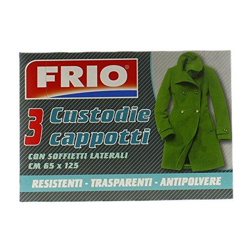 Frio hoezen voor jassen, 3 stuks