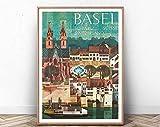 Basel Poster Print, Switzerland Poster, Europe Poster