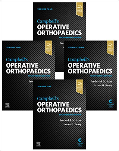 Compare Textbook Prices for Campbell's Operative Orthopaedics, 4-Volume Set 14 Edition ISBN 9780323672177 by Azar MD, Frederick M,Canale MD, S. Terry,Beaty MD, James H.