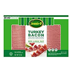 Jennie-O Turkey Bacon, 12 Ounce