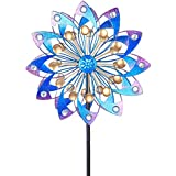 Vigdur Wind Spinner 360 Degrees Double Wind Sculpture Suitable for Decorating Your Patio, Lawn & Garden
