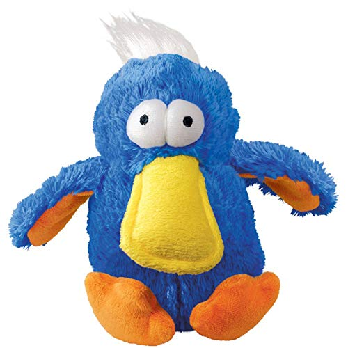 KONG - DoDo Bird - Plush Dog Toy with Extra Loud Squeaker - For Medium Dogs (Assorted Colors)